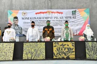 Sosialisasi 4 Pilar MPR di Indramayu, Gus Jazil: Saat Pilkada Jangan Sebarkan Kebencian