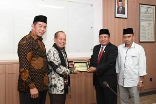 Wakil Ketua MPR RI Dr.Syrifuddin Hasan.MM.,M.B.A. melakukan kunjungan kerja ke Kampus UIN AR - RANIRY Banda Aceh (Banda Aceh, 3 Desember 2019)