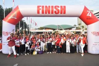 Jalan Sehat 4 Pilar 5 KM bersama MPR - RI (Jakarta, 25 Agustus 2019)