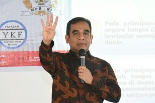 Wakil Ketua Pimpinan MPR RI H.Ahmad Muzani Sosialisasi 4 Pilar MPR RI Dengan Yayasan Kasyiful Fikri di Hotel Amanda Tebing Tinggi, Sumatera Utara (Jumat, 08 Maret 2019)