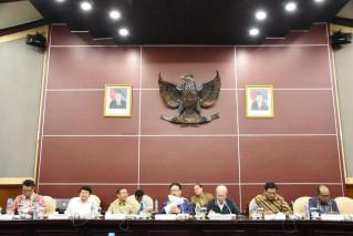 Rapat Pleno Khusus Lembaga Pengkajian MPR RI Dengan Kemendagri, Kemenlu dan Bakosurtanal di Ruang GBHN Gd. Nusantara V, Jakarta (Selasa, 19 Maret 2019)