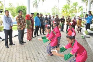 Wakil Ketua MPR RI Mahyudin Sosialisasi 4 Pilar dengan KNPI di Pendopo Tenggarong Kutai Kartanegara, Kalimantan Timur (Kamis, 21 Maret 2019)