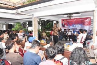 Wakil Ketua Pimpinan MPR RI H.Ahmad Muzani Sosialisasi 4 Pilar MPR RI di Lingkungan Warga Kelurahan Duri Kepa Kebun Jeruk, Jakarta Barat (Kamis, 21 Maret 2019)