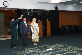 Pengucapan Sumpah/Janji Anggota MPR RI Pengganti Antar Waktu di Ruang Delegasi Nusantara V, Jakarta (Rabu, 24 April 2019)