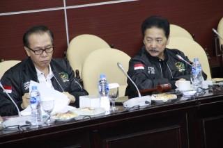 Rapat Pleno Lembaga Pengkajian di Ruang GBHN Gedung Nusantara V, Jakarta (Rabu, 07 Februari 2019)