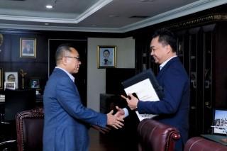Ketua MPR RI Zulkifli Hasan Menerima Delegasi Diaspora Indonesia  di Ruang Kerja Ketua MPR RI Gedung Nusantara 3, Jakarta (Selasa, 12 Februari 2019)