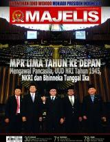 Majalah MPR No. 10/TH. VIII/Oktober 2014